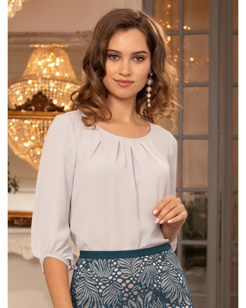 Блуза пудрово-жемчужная, арт. 62536