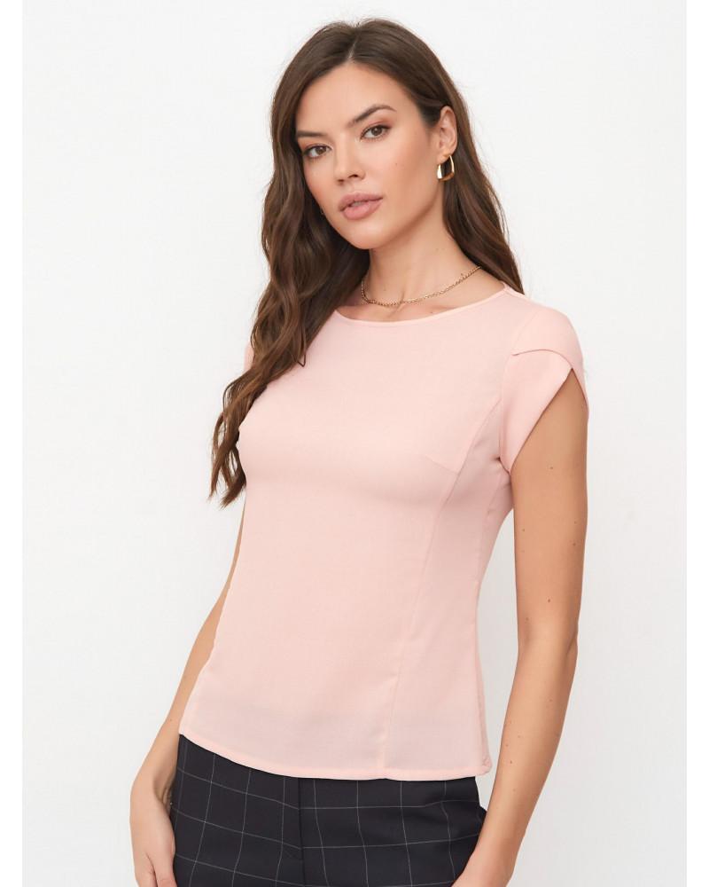 Блуза женская пудрово-розовая, арт. 62777
