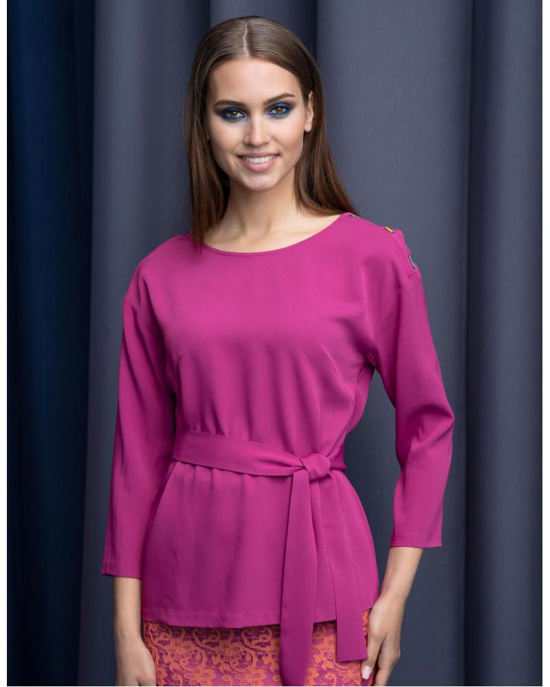Блуза с поясом, арт. 61584
