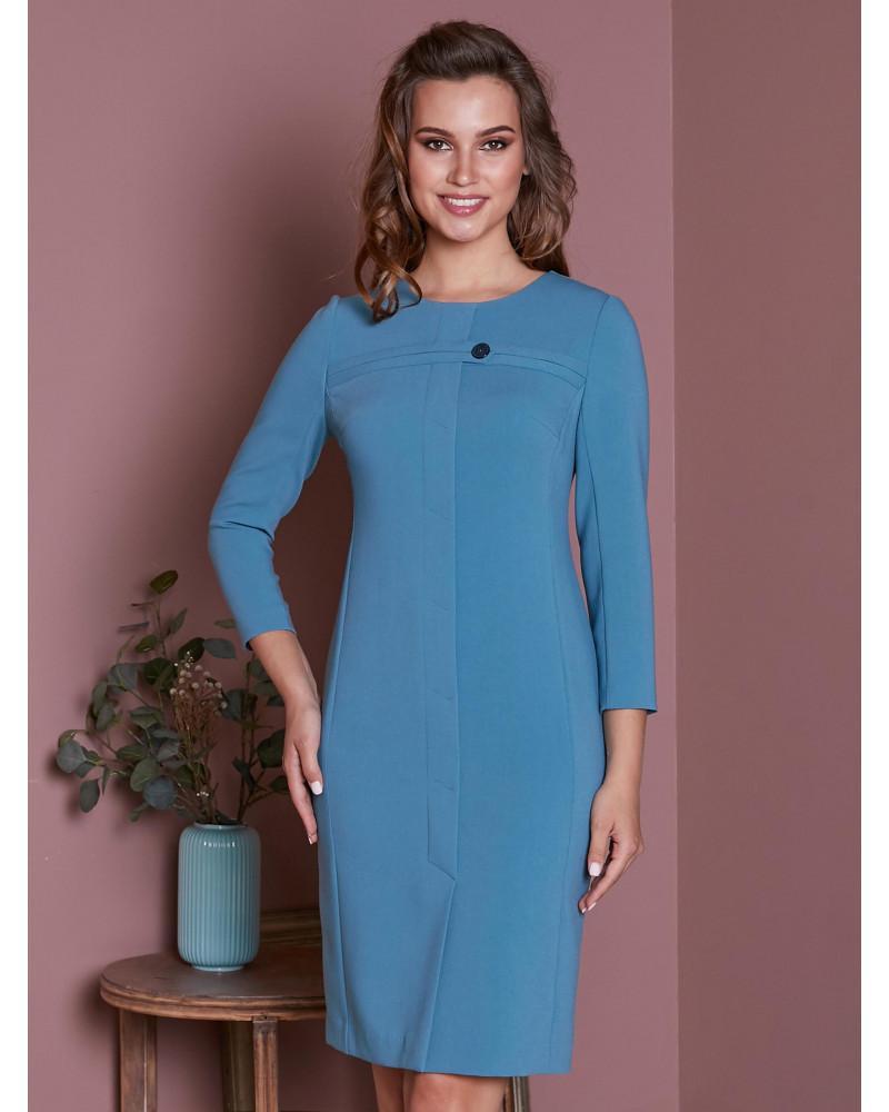 Платье цвета индиго, арт. 52127