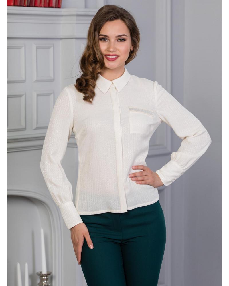 Блуза вискозная цвет экрю, арт. 62129