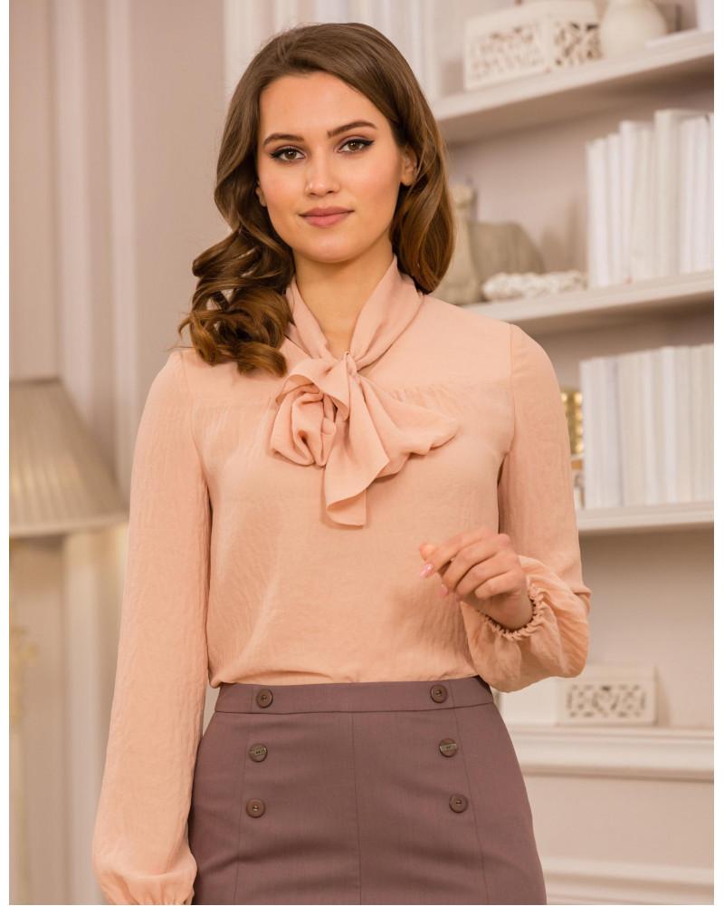 Блуза персиковая, арт. 61722