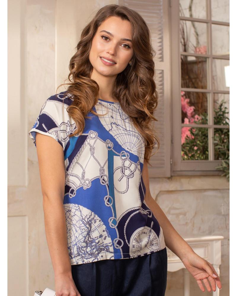 Блуза вискозная, арт. 62463