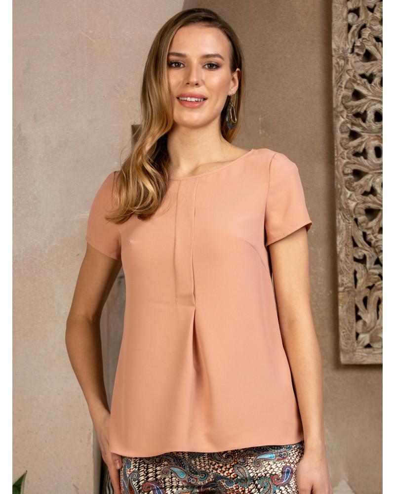 Блуза поливискозная с планочкой, арт. 62659